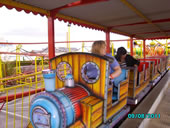 Train at the Funfair